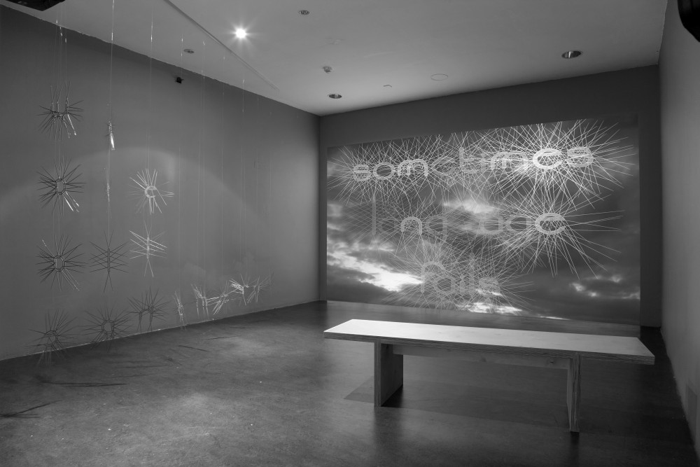 George Bolster: Self erosion (2013). 19 minutes. HD video projection. Image courtesy of the artist.