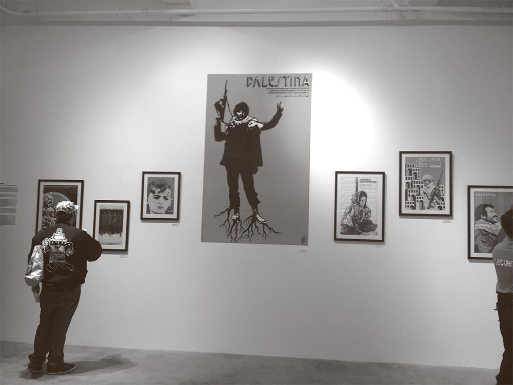 Histories absolved revolutionary cuban poster art and the muslim international installation shot medina