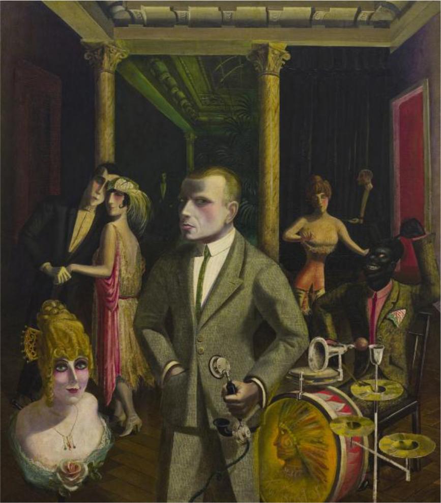 Otto Dix, An Die Schönheit, 1922. Oil on canvas, 139.5 x 120.5 cm. Heydt Museum, Wuppertal. Photograph: Antje Zeis-Loi. © VG Bild-Kunst, Bonn 2011