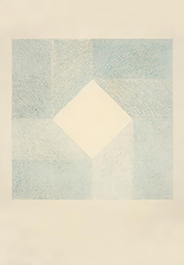 Décio Vieira: Untitled, 1959, pastel on paper. 100 x 70cm. Private Collection. Photo: Sérgio Guerini.